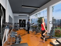 Dream Life Konutları Fitness Salonu